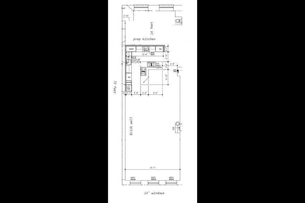 Union Square Kitchen Floor Plan